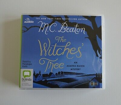 The Witches' Tree: Agatha Raisin - by M.C. Beaton - Unabridged Audio Book 6CDs
