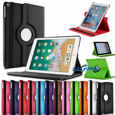 "UK For Apple iPad Air 3rd Generation 10.5"" Rotating Leather Smart Case Cover"