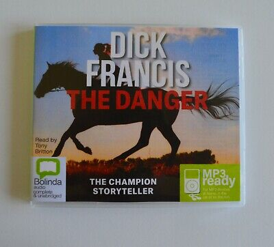 The Danger - by Dick Francis - MP3CD - Audiobook