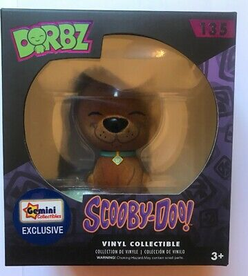 Funko Pop Scooby-Doo Flocked Dorbz Gemini Collectables Exclusive