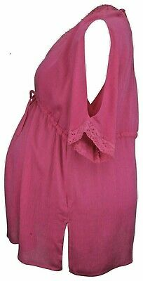 BRIGHT PINK Mothercare Blooming Marvellous Maternity Top size: UK 12-14 bnwot