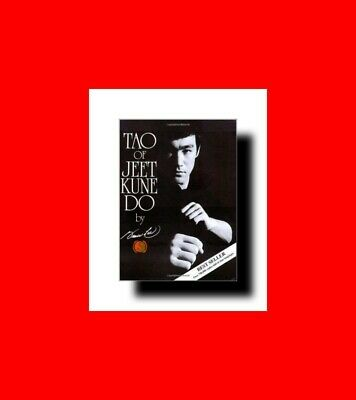 MARTIAL ARTS BOOK:TAO OF JEET KUNE DO by BRUCE LEE-ATTACK+STRATEGY%PHILOSOPHY+MO