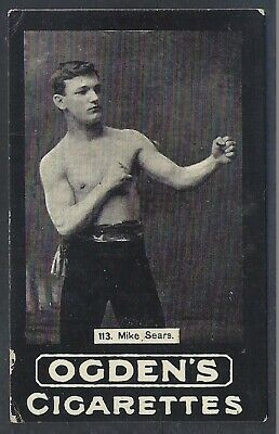 Ogdens Tabs-General Interest (001-120)-#113- Boxing - Mike Sears