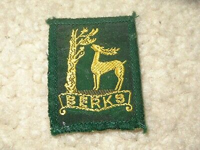 Boy Scout Berks England Uniform District 2019 World Jamboree Traded Patch Badge