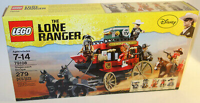 Original Lego Minifigure LONE RANGER #tlr001 from set 79108 Used