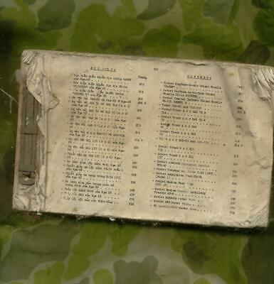 South Vietnamese Army Weapons Manual for the NVA