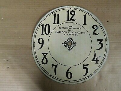 "Vintage c1920 Cincinnati Time Recorder Clock Co. 10""  Dial Face Nice Find"