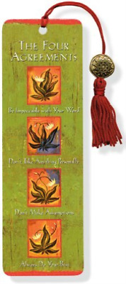 `Ruiz, Don Miguel`-The Four Agreements Bookmark BOOK NEW
