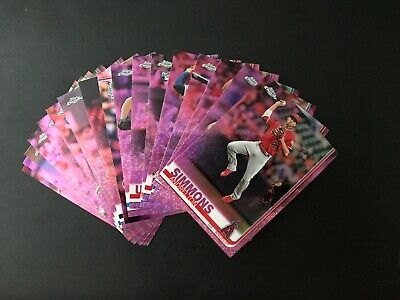 2019 Topps Chrome Pink Refractor Singles, Pick Your Card/Player