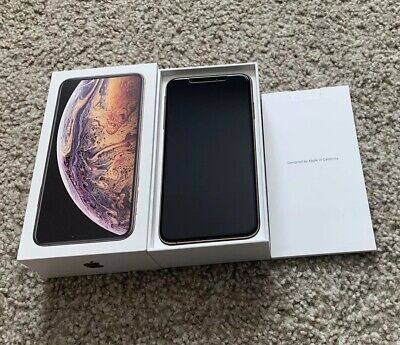 Apple iPhone XS Max/64GB-Gold Worldwide Factory Unlocked Fast shipping!