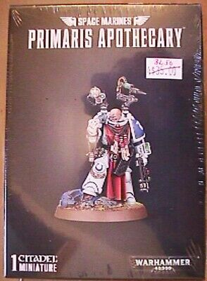 GW WH 40K Space Marine Primaris Apothecary still in box