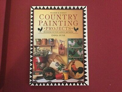 Book, Readers Digest, Country Painting Projects