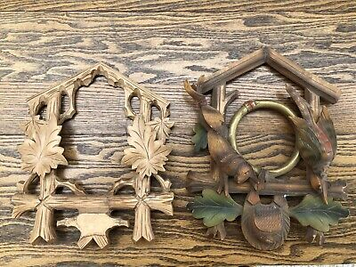 German black forest cuckoo clock front trims
