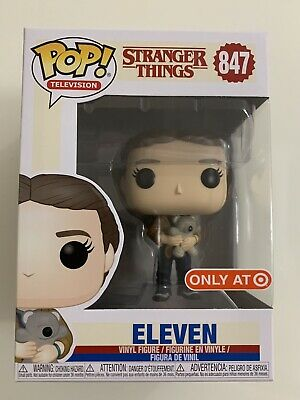 Funko Pop Stranger Things Eleven With Bear #847 Target Exclusive NEW