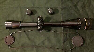 Leupold BR-36X Fine Cross Hair and Dot Reticle rifle scope near mint condition