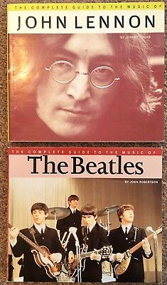 The Beatles / John Lennon   2 'Complete' Guide  Books  In Very Good Condition