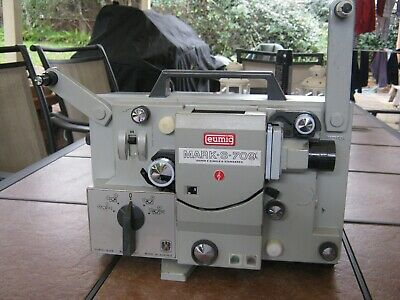 Eumig Mark-S-709 8mm movie projector. Super 8 Single 8 Standard 8