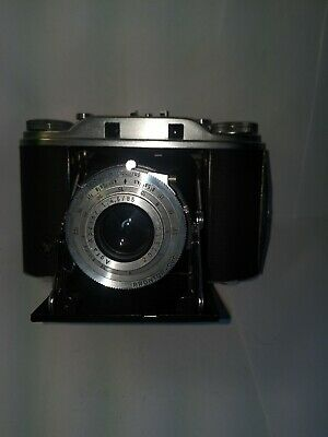 Vintage Agfa Isolette III camera and case