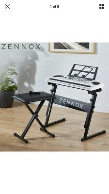 Zennox Electric Keyboard 61 Keys Instrument & Microphone NEW UNWANTED GIFT