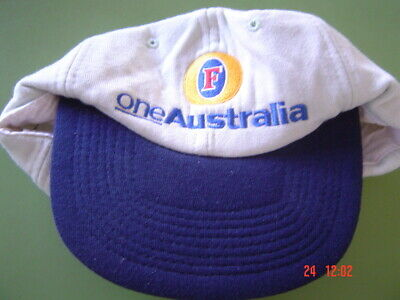 Fosters One Australia Cap New Unused sold as per scans