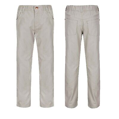 Boy's Baby Toddler Chinos Trousers Ex M&S Kids Casual Beige Cotton Pants