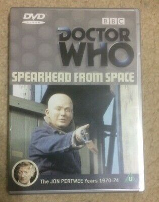Classic Doctor Who 3rd Doctor DVD Spearhead From Space BARGAIN Tardis Sci-Fi