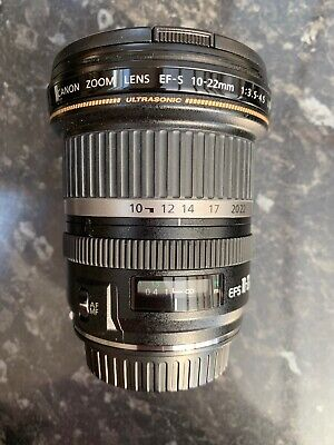Canon EFS 10-22mm f/3.5-4.5 USM lens Ultra Wide Angle Lens Excellent condition