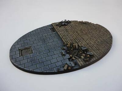 170mm oval resin base Ruins City Fight Warhammer 40,000 40k Bolt Action