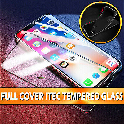 Screen Protector for iPhone 11,11 PRO MAX 9H 5D Curved Full Cover Tempered Glass