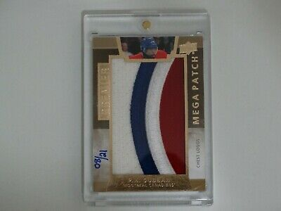 2014-15 Ud Premier Hockey P.k.subban Mega Patch Card 08/21 Chest Logo