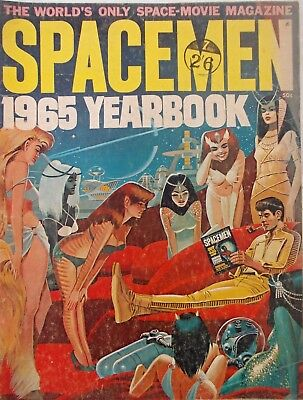 Spacemen 1965 Yearbook - Warren Publishing - Good Condition - RARE