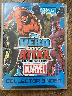 Topps Hero attax Trading Card Game Series 2 Complete 225 Cards + Binder