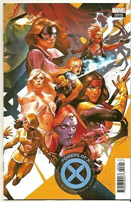POWERS OF X #2 (MARVEL 2019) Yasmine Putri Connecting Variant HOT HTF Hickman NM