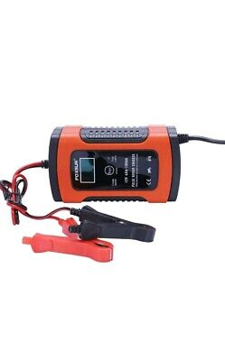 12V Fast Car Battery Charger LCD Intelligent Automobile Motorcycle Pulse Repair
