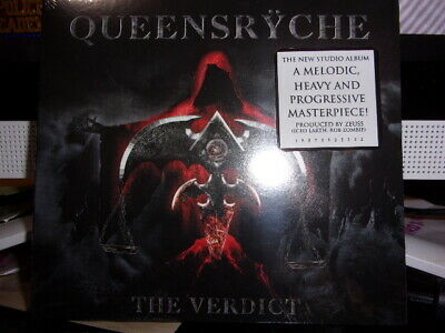 QuEENSRYCHE The Verdict NEW /SEALED Single CD release w hype sticker