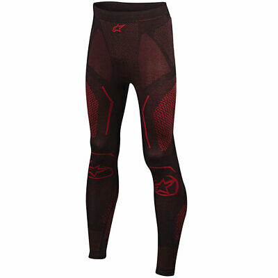 #c Alpinestars Ride Tech Summer Trousers Black / Red - XL-XXL