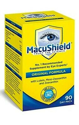 MacuShield Food Suplement 90 Capsules 90 Day Pack