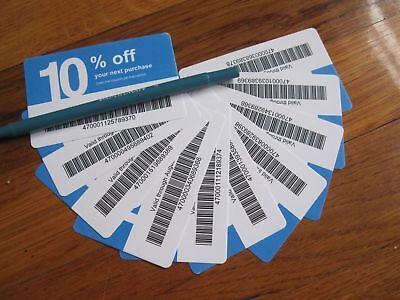 Twenty (20) Lowes 10% for Home Depot only Coupons Exp JUNE 15, 2020