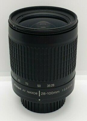 Nikon AF Nikkor 28-100mm f/3.5-5.6 G Lens - GOOD CONDITION