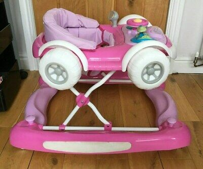Girls Pink Activity MyChild Coupe Walker/Rocker (Pink) With Musical Play Tray