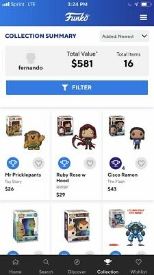 funko pop collection lot