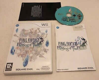 Final Fantasy Crystal Chronicles Echoes of Time Nintendo Wii Complete PAL