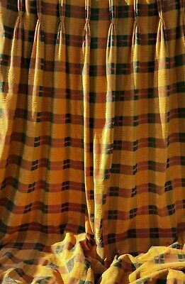 Huge Thick Long Wide Winter Curtains Sumptuous Quality