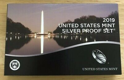 2019 S Silver Proof Set 11 Coins Includes Reverse Proof W Lincoln