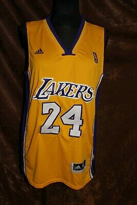 NBA Lakers #24 Bryant Adidas Jersey Men's L (NLV)