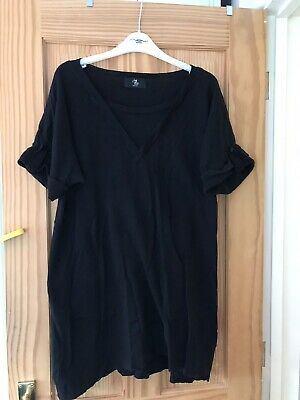 Mothercare Maternity Black Top Size 18