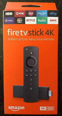 NEW Amazon Fire TV Stick 4K 2019 with Latest Alexa Voice Remote Streaming Media