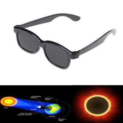 Plastic Solar Eclipse Viewing Glasses Usa 2017 100% Safe Ce Approved Darke  GN