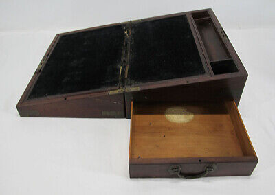 Antique 1801-1810 Georgian Captain's Box Lap Desk William Gaimes London yqz