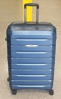 "Samsonite Tech 2.0 Poly-carbonate 29"" Hardcase spinner Check in Luggage Blue"